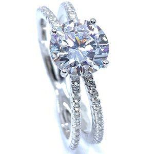 9d15019690cfc5 Jewelry - Starlite Seamless CZ Diamond Ring